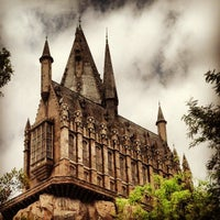 Photo taken at Harry Potter and the Forbidden Journey / Hogwarts Castle by Jeff M. on 4/21/2013