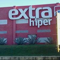 Photo taken at Hipermercado Extra by Oberdan P. on 6/8/2013