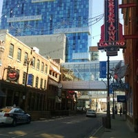 Photo taken at Greektown Historic District by Shannon S. on 3/29/2016