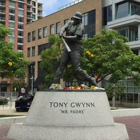 Photo taken at Tony Gwynn Statue by Linzey H. on 6/16/2015