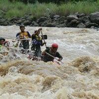 Photo taken at Mendut Rafting by suluh j. on 1/16/2014