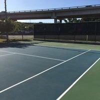 Photo taken at Austin High Tennis Center by Manda M. on 7/6/2016