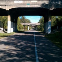 Photo taken at The Midtown Greenway by City Pages on 5/6/2013