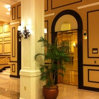 Photo taken at King Edward Hotel (Hilton Garden Inn Jackson) by Barbara G. on 11/23/2012