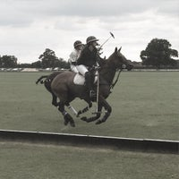 Photo taken at Royal Berkshire Polo Club by Piers R. on 8/16/2015
