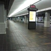 Photo taken at RTA Tower City Rapid Station by Guokai F. on 7/6/2013