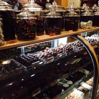 Photo taken at Rocky Mountain Chocolate Factory by Levent I. on 4/26/2014