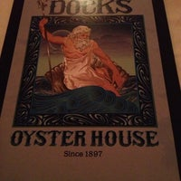 Photo taken at Dock's Oyster House by Larry D. on 12/6/2012