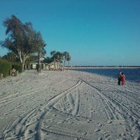 Photo taken at Cape Coral Beach at Yacht Club Community Park by Jeff B. on 1/7/2011