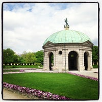 Photo taken at Hofgarten by Ozverusha on 5/6/2013