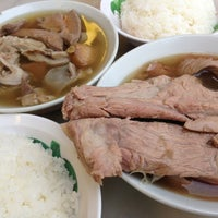 Photo taken at Song Fa Bak Kut Teh 松发肉骨茶 by KC L. on 1/23/2013
