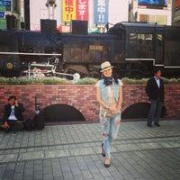 Photo taken at 新橋駅前 SL広場 by Elena G. on 5/19/2013