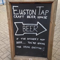 Photo taken at The Euston Tap by Nick C. on 6/2/2013