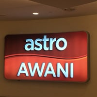 Photo taken at Astro Awani by Jasmin M. on 4/21/2016