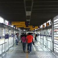 Photo taken at Estación Tomás Valle - Metropolitano by Julio S. on 3/3/2013