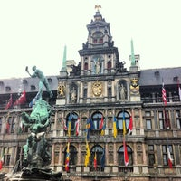 Photo taken at Antwerp City Hall by Andre F. on 7/20/2013