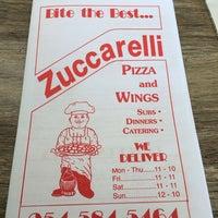 Photo taken at Zucarrelli's Pizza by Lady Nicole B. on 1/24/2014