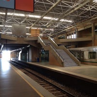 Photo taken at Estação Samambaia - METRÔ-DF by Bruno B. on 11/22/2013