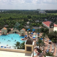 Photo taken at Parc Soleil by Hilton Grand Vacations by Mary-Ellen W. on 7/30/2013