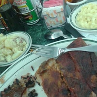 Photo taken at Mo's BBQ by Rosemarie M. on 3/2/2015