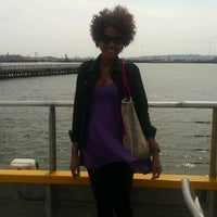 Photo taken at New York Water Taxi Randall's Island by Sorangel S. on 4/29/2013