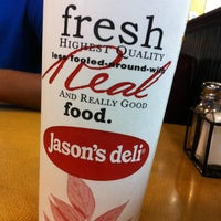 Photo taken at Jason's Deli by Chelsea C. on 3/30/2013
