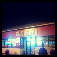 Photo taken at El Cheapo by Derek W. on 10/5/2012