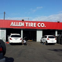 Photo taken at Allen Tire Company by Rod J. on 11/16/2013