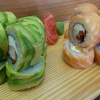 Photo taken at Mikan Sushi Santiago by Mauricio J. on 11/28/2015
