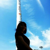 Photo taken at Menara Taming Sari by Acik L. on 5/28/2013