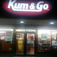 Photo taken at Kum & Go by Knick B. on 7/27/2016