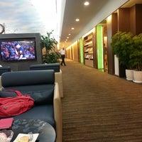 Photo taken at EVA Air Lounge by Seo H. on 8/24/2013