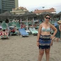 Photo taken at La Cepa Playa by Israel R. on 7/12/2013