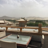 Photo taken at Silk Road Hotel Dunhuang by Cindy Y. on 6/25/2016