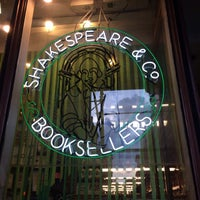 Photo taken at Shakespeare & Co by Sung Eun L. on 7/10/2014