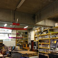 Photo taken at Fablab Brussels by Marie d. on 2/21/2013