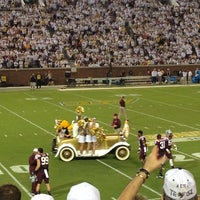 Photo taken at Bobby Dodd Stadium by Craig W. on 9/27/2013