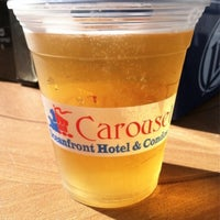 Photo taken at The Carousel Patio Bar & Grill by Stephen I. on 9/26/2014