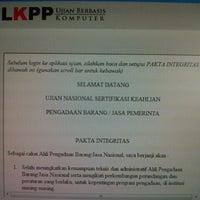 Photo taken at Dit. e-Procurement LKPP Gd.Smesco UKM Lt.17 by Rovi B. on 6/5/2013