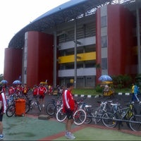 Photo taken at jakabaring by Sovan I. on 11/17/2012