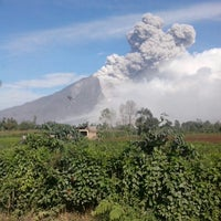 Photo taken at Gunung Sinabung by Mas R. on 1/23/2014