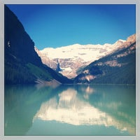 Photo taken at Lake Louise by Ian G. on 7/7/2013