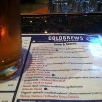 Photo taken at Coldbrews Sports Bar & Grill by Cristina N. on 5/7/2013