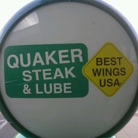 Photo taken at Quaker Steak & Lube® by David M. on 10/1/2012