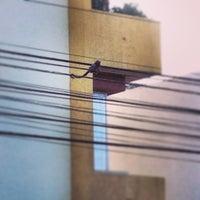 Photo taken at Avenida Hermes Fontes by Daniel Z. on 3/31/2013