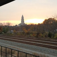 Photo taken at Braddock Road Metro Station by Kevin K. on 11/20/2012