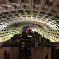 Photo taken at Gallery Place - Chinatown Metro Station by Kevin K. on 11/24/2012