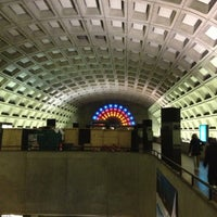 Photo taken at Gallery Place - Chinatown Metro Station by Kevin K. on 11/30/2012