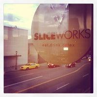 Photo taken at SliceWorks by Anissa S. on 4/13/2013