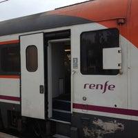 Photo taken at Tarragona Railway Station by Domo-A on 11/25/2012